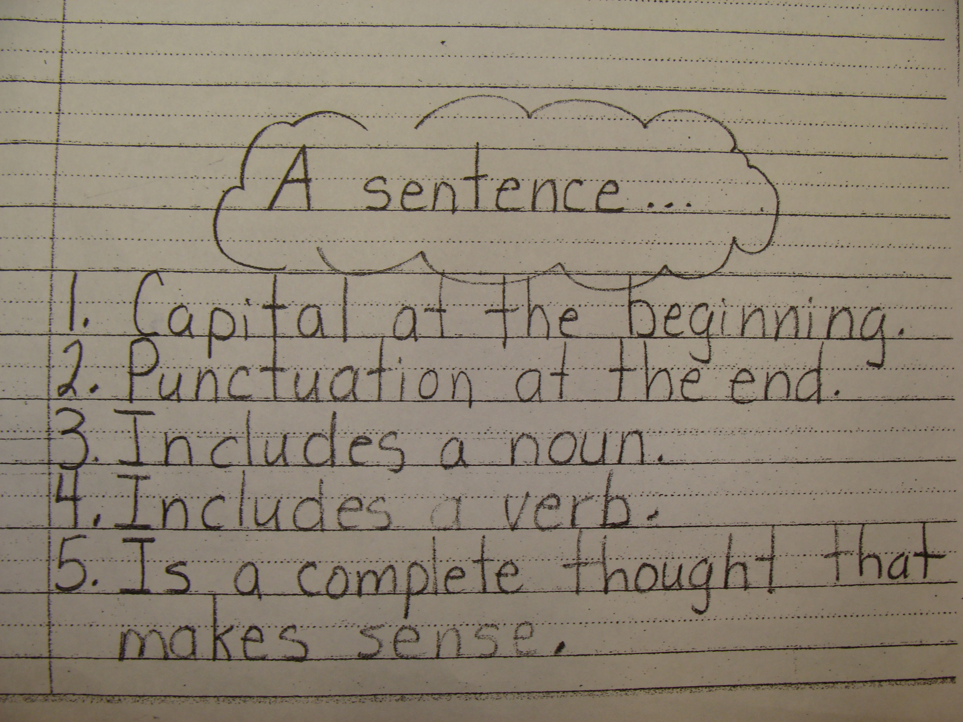 ... What Where and When sentence! The students think this is just AMAZING